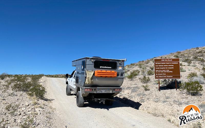 Old Ore Road Big Bend National Park