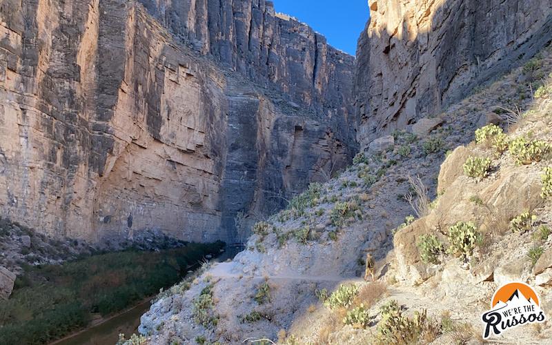 Santa Elena Canyon Trail Big Bend National Park