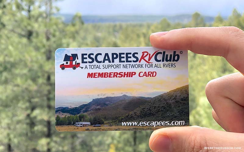 Escapees RV Club Review