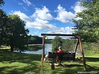 Kenisee Lake Thousand Trails swing