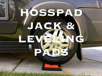 RV Jack Pads by Hosspads