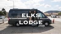 Elks Lodge RV Parking