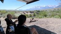 Mono Lake Camping view