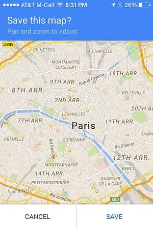 Best Apps for Paris - Google Maps