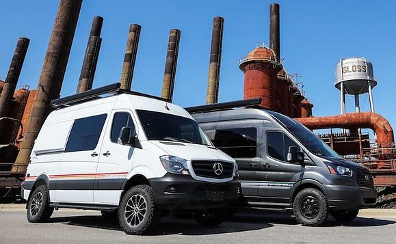 Van Chassis For Camper Van Conversion