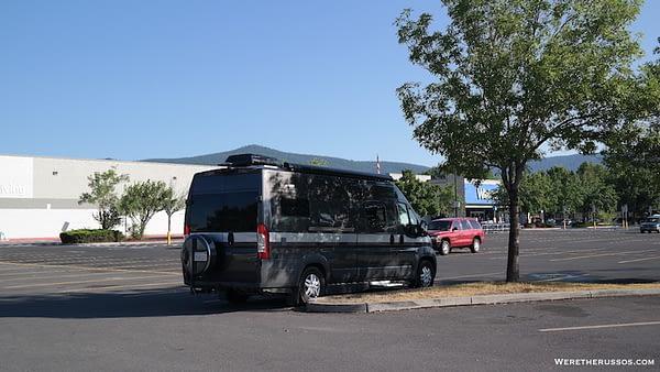 Walmart RV Parking
