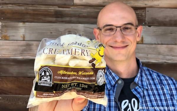 Clock Shadow Creamery Wisconsin Cheese Curds
