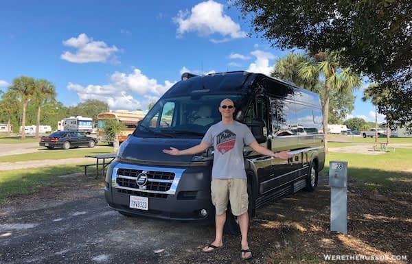 Thousand Trails Orlando 50 amp site