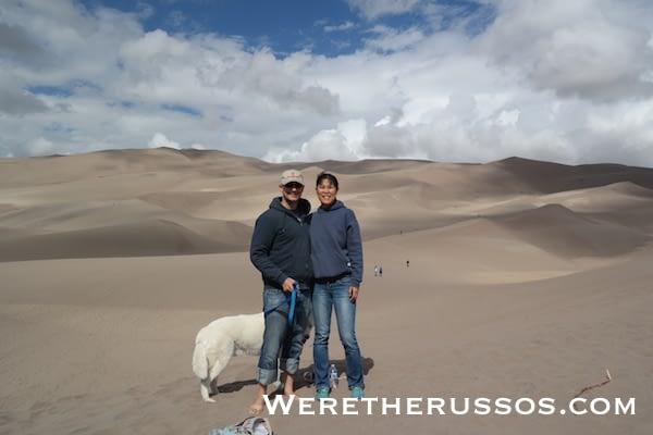 Great Sand Dunes National Park Joe and Kait