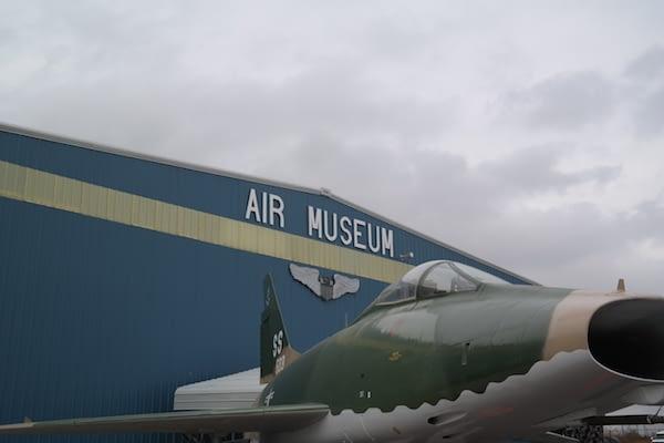 Pueblo Air Museum - Sign