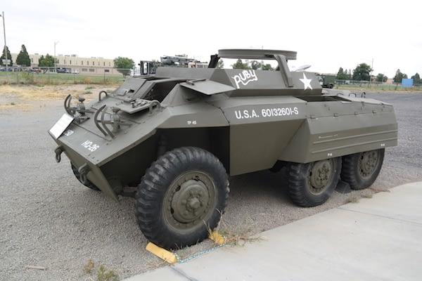 Pueblo Air Museum - Vehicle