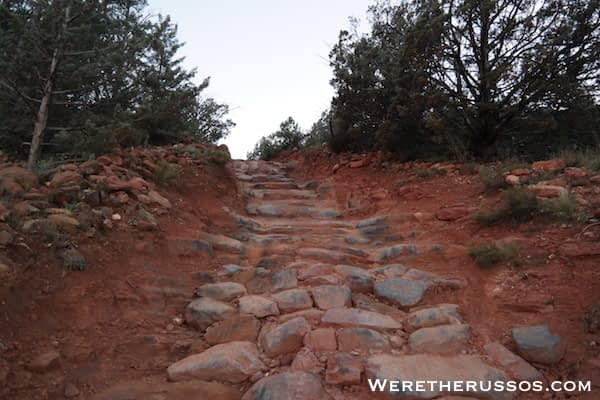 Broken Arrow Trail - Stairs