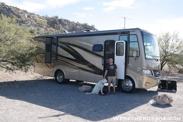 Free Camping Tucson, Arizona