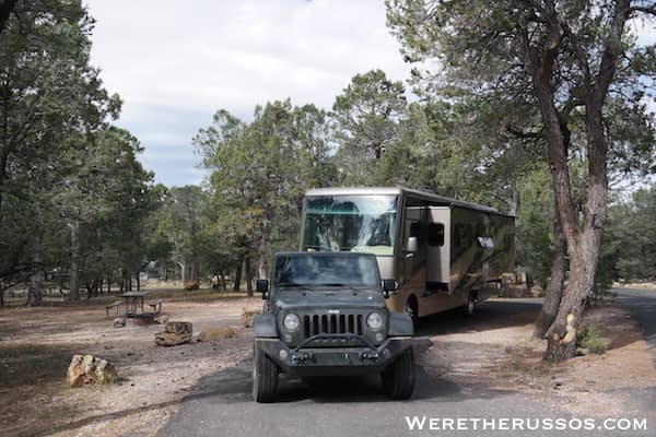 RV Camping Grand Canyon South Rim