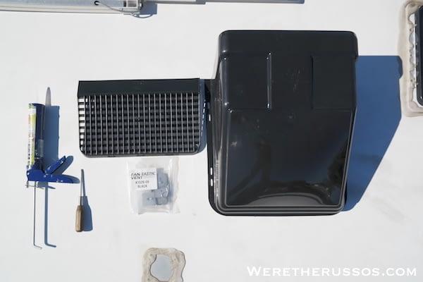 Fan-tastic ultra breeze vent cover tools
