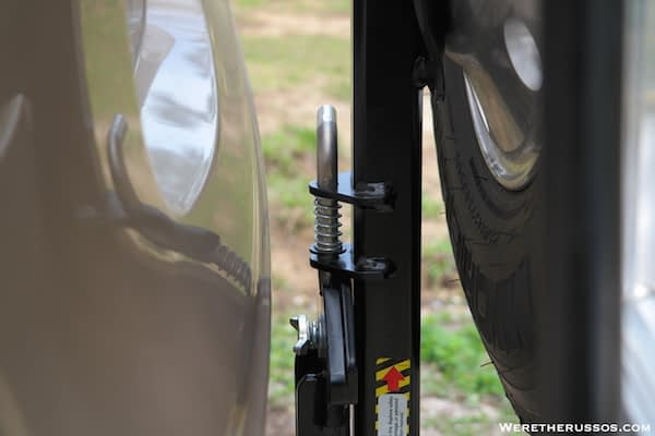 Roadmaster Spare Tire Carrier Pin