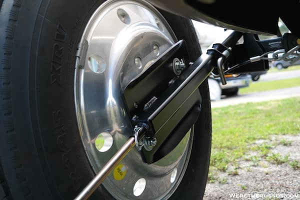 Roadmaster Spare Tire Carrier Tire Back