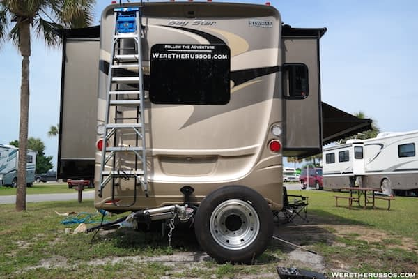 Roadmaster Spare Tire Carrier Wheel Down