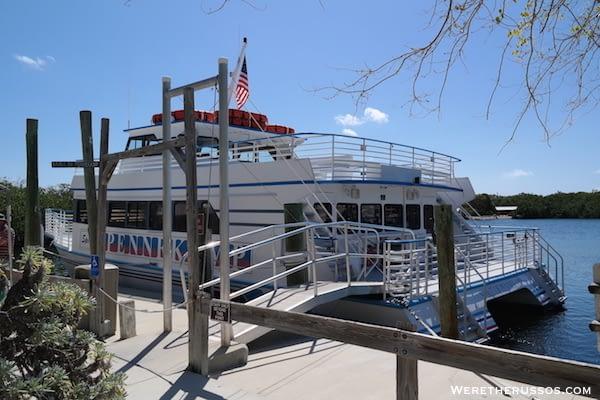 John Pennekamp State Park glass bottom boat tour