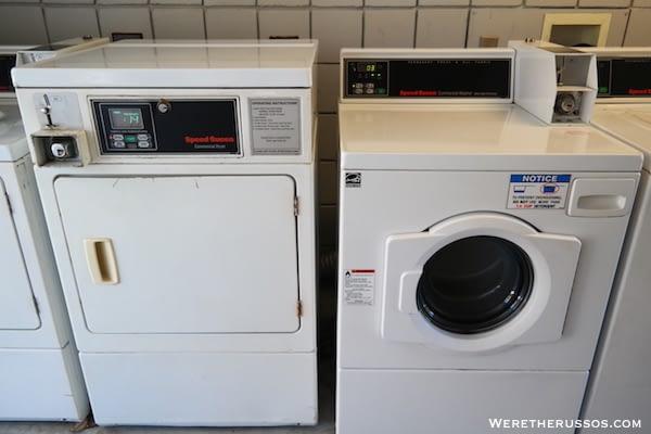 John Pennekamp State Park laundry machines