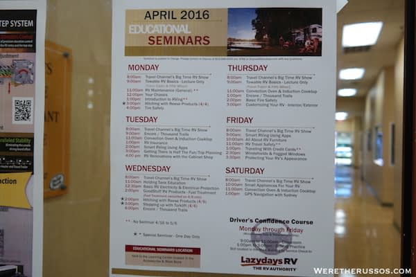 Lazy Days Educational Seminars