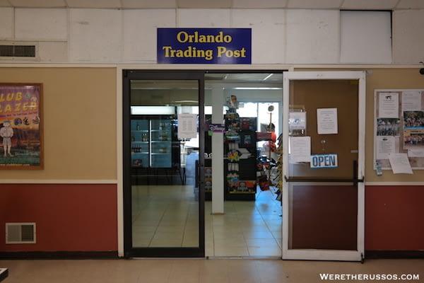 Thousand Trails Orlando trading post