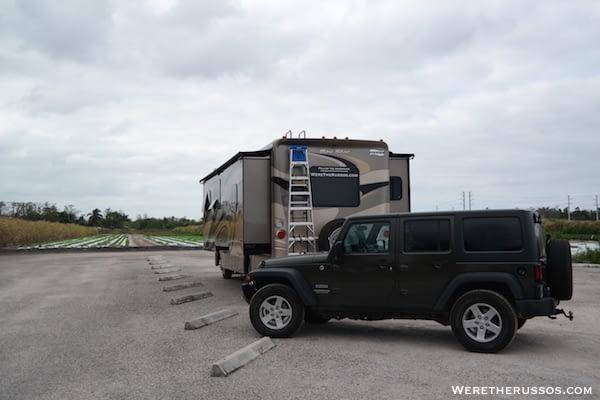 Bedner's Farm Boynton Beach FL RV parking
