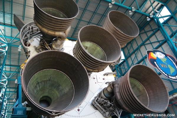 Kennedy Space Center Apollo Saturn V