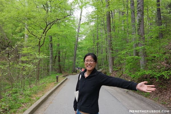 Mammoth Cave Discovery Tour path