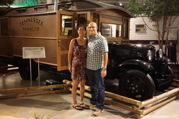 Cool RVs at RV/MH Hall of Fame