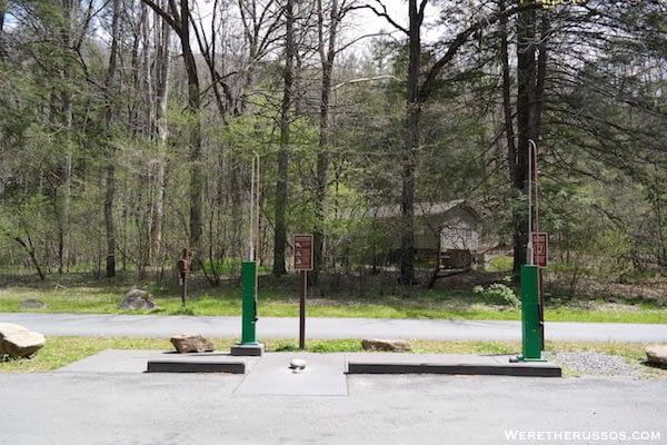 Smokemont campground RV dump station