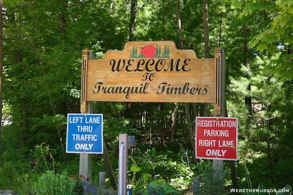 RV Camping Door County, Wisconsin