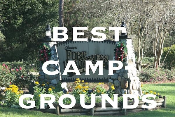 Best campgrounds in US