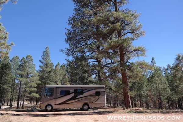 Free camping near grand canyon Forest Road 688 Dispersed Camping