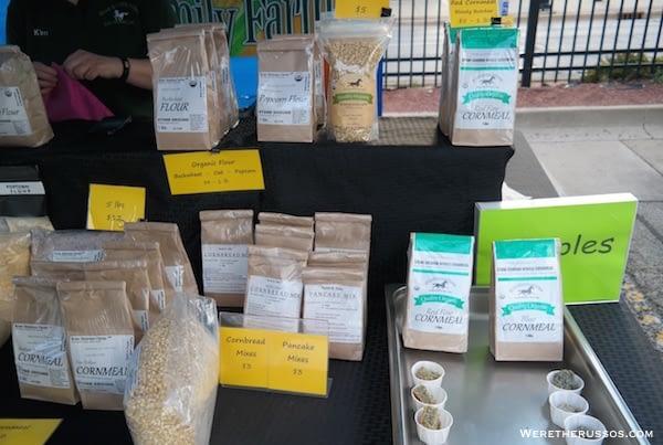 Champaign Farmers Market Popcorn
