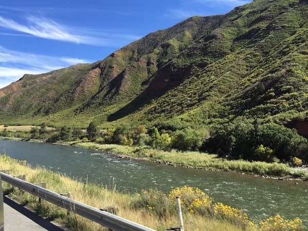 Colorado River along I70