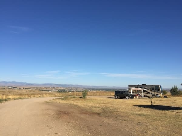 camping in Colorado Missile Site Park
