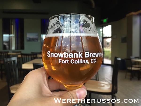 Snowbank Brewing Fort Collins crank n brew