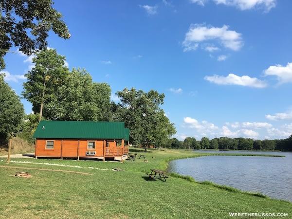 Clays Park Ohio cabin