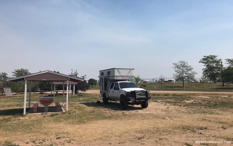 Camping Near Loveland CO
