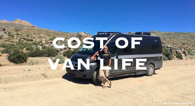 Full Time RVing Costs: Van Life Edition – May 2017