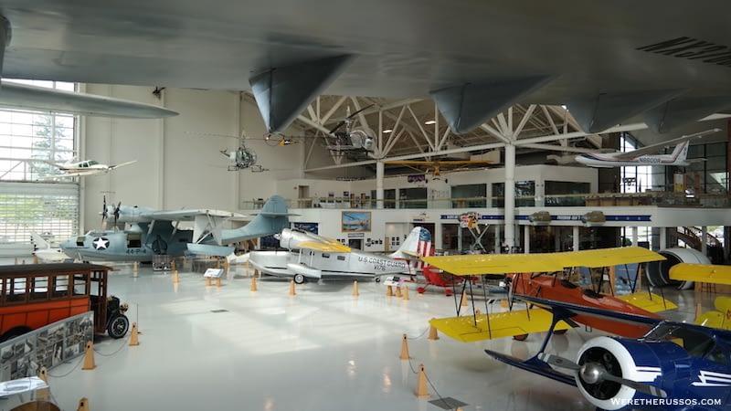 Evergreen Aviation Museum display