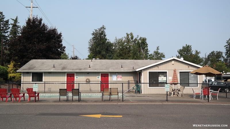 Portland Fairview RV Park amenities