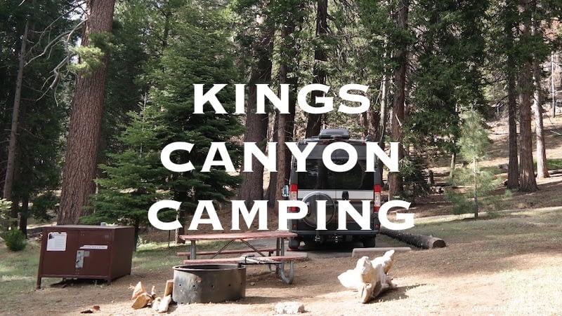 Kings Canyon Camping