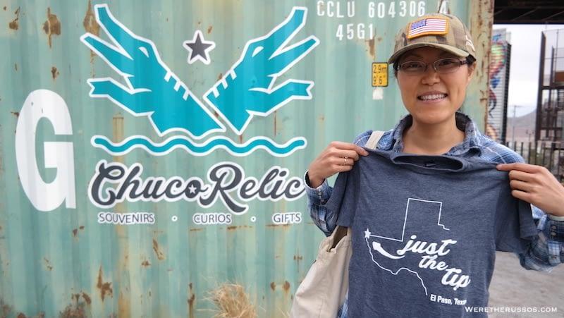 El Paso Gift Shop Chuco Relic West