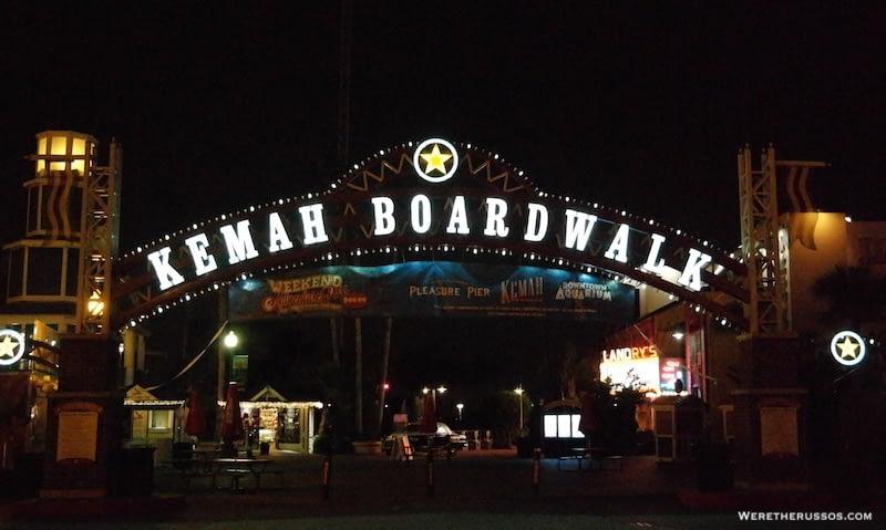 Kemah boardwalk Texas