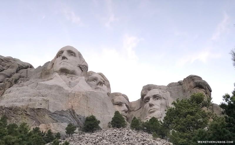 Mt Rushmore Presidential Trail