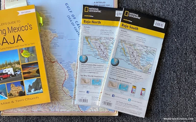 Baja California Maps