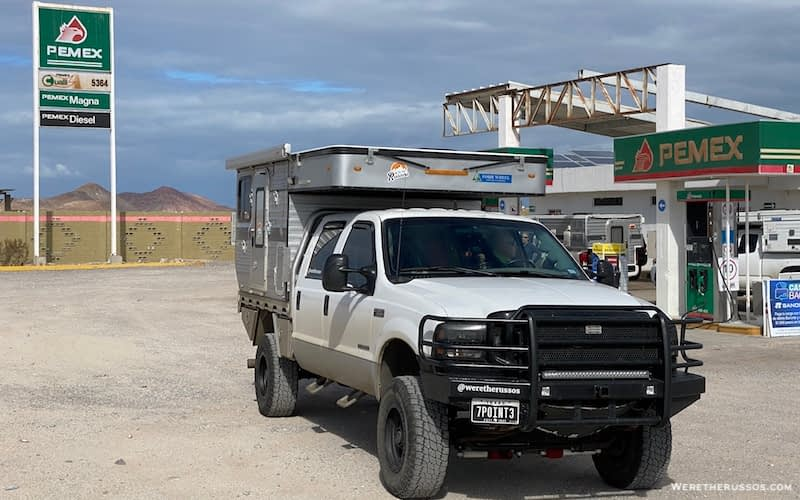 Baja Gas Stations Pemex