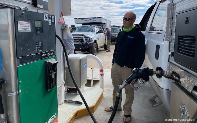 Diesel and ULSD in Baja